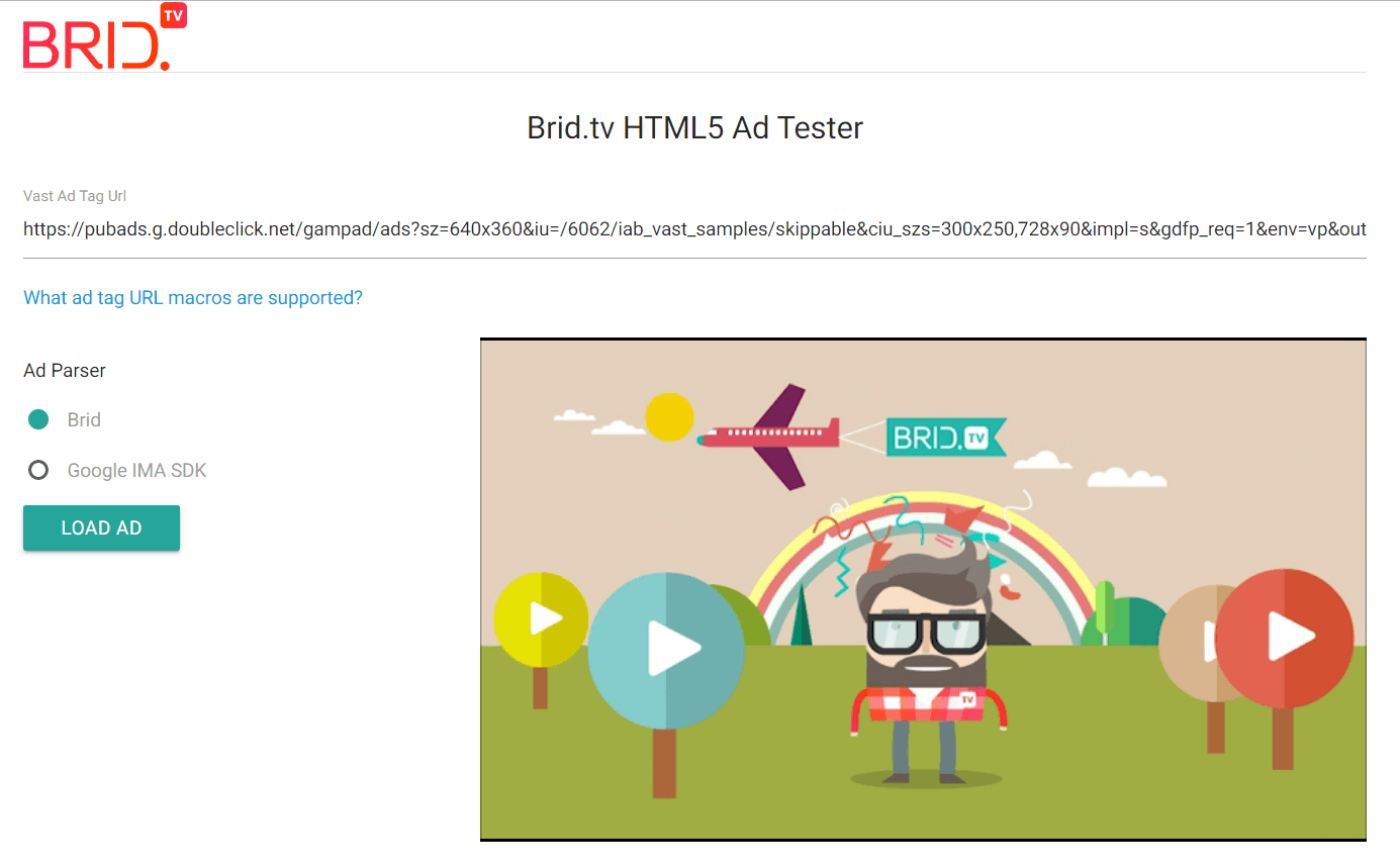 brid_TV_VAST_Tag_Tester