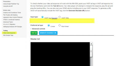 VAST-VPaid-Video Ads Inspector
