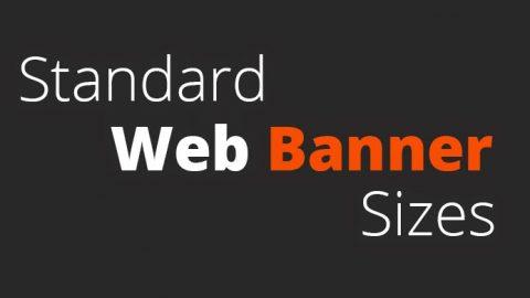 Standard Display Ad Sizes