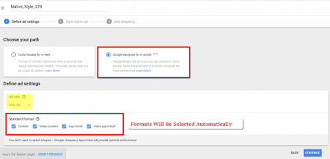 Setting Up AdX Programmatic Native In Google Ad Manager