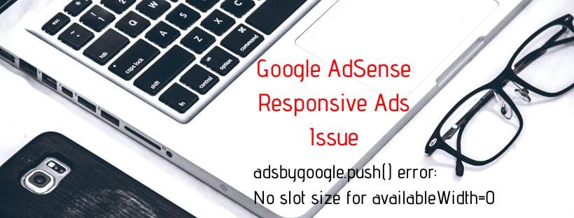 Google-Adsense-console-error