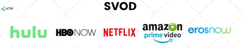 SVOD: Subscription video on demand